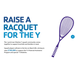 Andrew Dart fundraising for Raise a Racquet for the Y