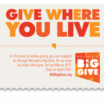 Nevada's Big Give