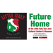 Promotional sign for Little Italy Cultural center & Museum