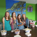 FALA's National Honor Society hosts an ice cream social to welcome new students