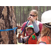 "Campers learn how to ""core"" trees and identify their age"