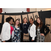 Lauren Bush Lauren, philanthropist and founder of Feed Projects, poses with a group of students at Mount Mary on March 5