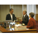 Peter Kageyama meets with Mayor Chris Beutler and City of Lincoln staff