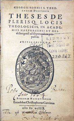 Size 550x415 sohnius g   theses de plerisq locis theologicis 1598