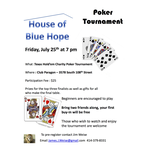 Blue Hope Poker Tournament 2014