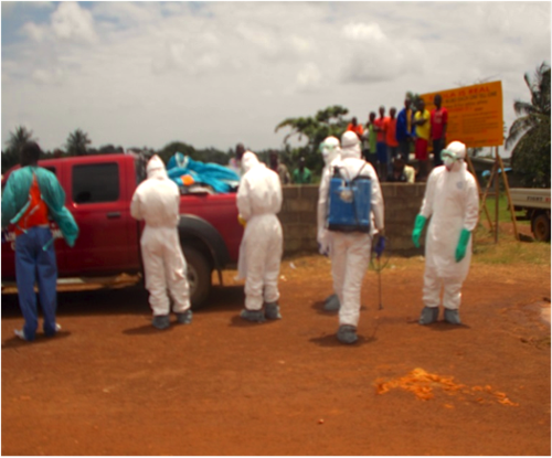 Size 550x415 after several hours of calls to the ebola call center and other ebola related numbers  the ebola bodies pickup team arrived