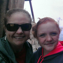 Maddie Reeser and Karen Saar fundraising for Roland Park Elementary Middle School 2014 Baltimore Running Festival Team