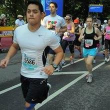 Justin Portes 2015 Hale Reservation Boston Marathon Team
