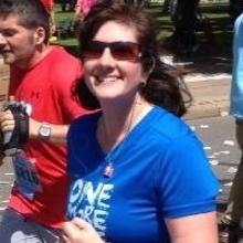 Kristen Henry fundraising for Broad Street Run 2015