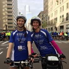 Team Planned Parenthood 5boro bike tour