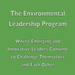 David Silver fundraising for Environmental Leadership Program