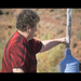 Rolanda Tahani - a Navajo drinking uranium-contaminated water