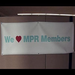 From all of us at MPR, thank you for your support!