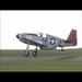 "2nd Rebuild, 1st Flight: CAF Red Tail P51-C Mustang ""Tuskegee Airmen"""