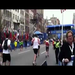 2011 Finish Line of my first Boston and for Jumpstart!