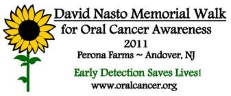 4th Annual David Nasto Memorial Walk banner