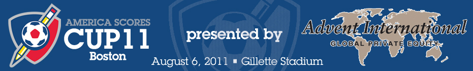 Goldman Sachs 2011 SCORES Cup Team banner