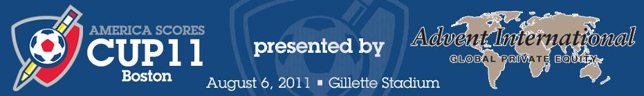 Bingham 2011 SCORES Cup Team banner