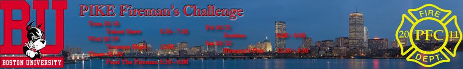 PIKE Fireman's Challenge 2011 banner