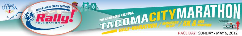 Tacoma City Marathon  2012 banner