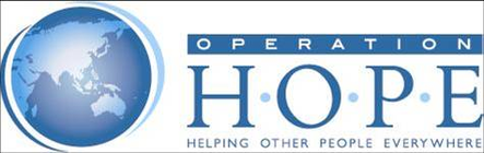 Operation H.O.P.E., Inc Fundraiser.  Become a 'Champion for Change'! banner