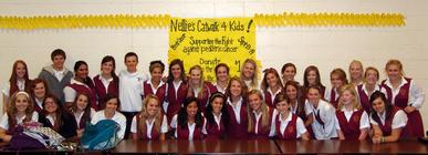 Bishop Watterson Nellie's Club banner