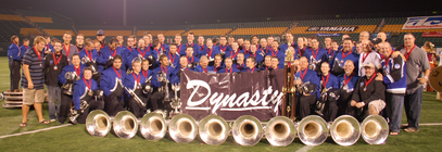 Minnesota Brass Give to the Max 2011 Team! banner