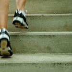 Size 150x150 stairs climbing
