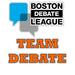 2012 Team Debate!