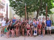 Northwestern Hillel ASB Cuba Mission 2012 banner
