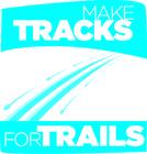 2012 Make Tracks for Trails banner