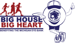 2012 Michigan Eye-Bank Big House Big Heart banner
