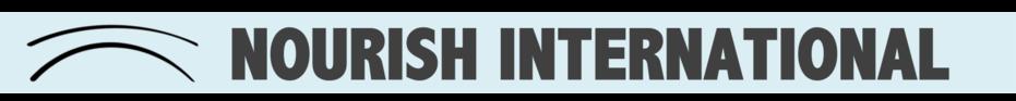 Nourish Challenge banner