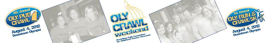 Oly Crawl Weekend banner