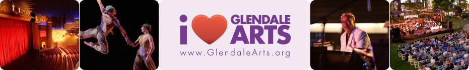 I Heart Glendale Arts banner