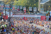 2012 Bank of America Chicago Marathon Fundraising Team banner