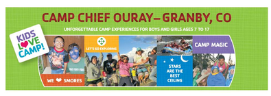 2012 Camp Chief Ouray Scholarships banner