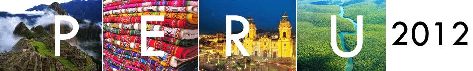 Expedition: Peru 2012 International Summer Mission banner