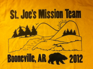 St. Joseph's Youth Mission Team banner