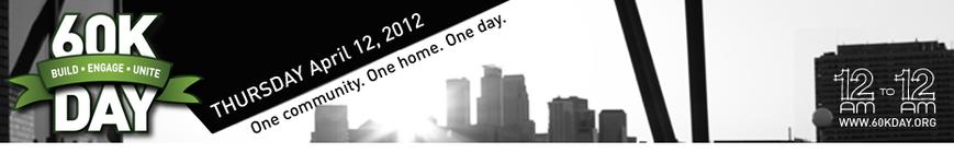 60K Day 2012 banner