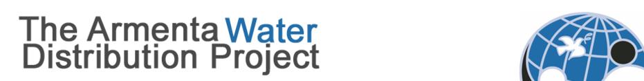 EWB-CPC Armenta Water Distribution Project 13.1 / 5k Race banner