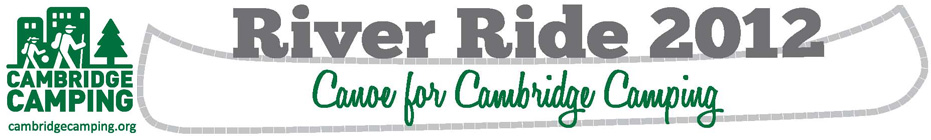 River Ride 2012 Team banner