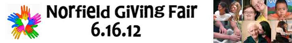 Norfield Giving Fair 6.16.12 banner