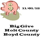 Give Big Holt County & Boyd County banner