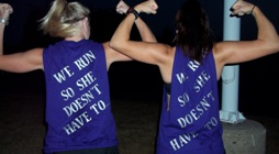 Running to End Domestic Violence -Central MI banner