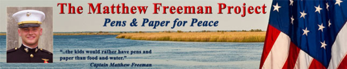TEAM FREEMAN banner