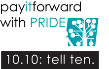 Pay It Forward for PRIDE banner