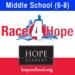 Middle School (Grades 6-8) -- Race4Hope 2012