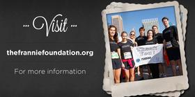 """Team Frannie"" for The 2012 Baltimore Running Festival banner"