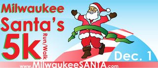 2012 Milwaukee Santa's 5K Fundraising Team banner